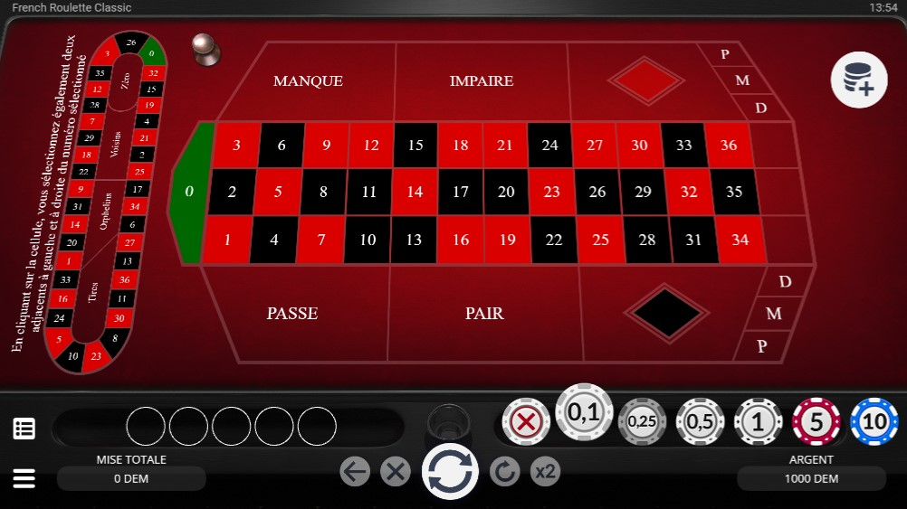 slot french roulette